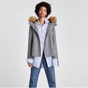NWT Zara Gray Coat